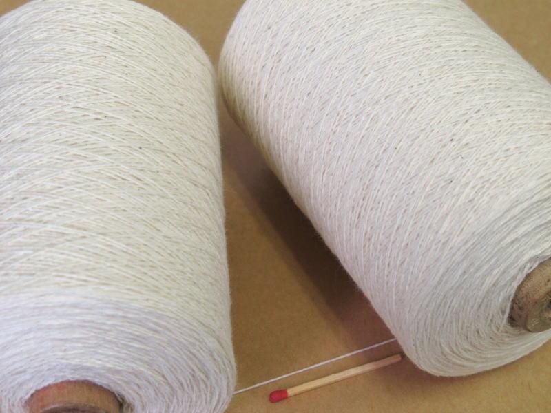 【10/2綿(生成)】 手織りにも手編みにもオススメの綿糸が43色!やわらかくて使いやすい、人気の定番シリーズです♪【開店セール1212】