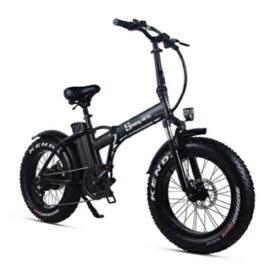 Shengmilo Mx20 ファットバイク アシスト自転車 マウンテンバイク 500W 48V15An 大容量バッテリー 電動 自転車 迫力の極太タイヤ 折りたたみ自転車 電動マウンテンバイク スノーホイール フル電動アシスト 折り畳み 20インチ 20×4.0太いタイヤ