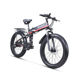 Shengmilo Mx01 ファットバイク ★数量限定高級版★電動アシスト自転車 折りたたみ自転車 フル電動自転車 電動 自転車 アクセル付き アシストのみ マウンテンバイク スポーツ 1000W 48V12.8An 大容量バッテリー FATBIKE 極太タイヤ 26インチ
