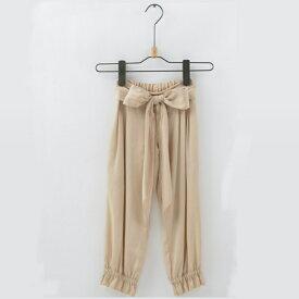 4b7090e508e4a 綿100% 長ズボン 通気性よし 女の子 子供服 キッズ ボトム パンツ 110CM 120CM