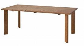 【85cm】キツツキのマークの飛騨産業 ALMO(アルモ) 4本脚ダイニングテーブル カンブリア宮殿