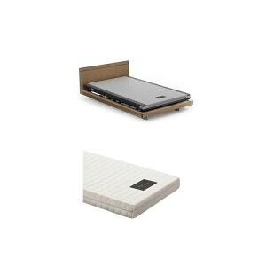 【1+1Mセミダブル2点セット】フレーム+マットレス グレイクス1000 INTIME 1000 電動ベッド