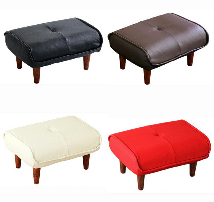 ソファ・オットマン(レザー)サイドテーブルやスツールにも使える。日本製|Kleine-クレーナ-
