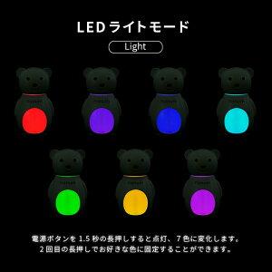 BEARHUMIDIFIER超音波加湿器全5色加湿器USBアロマ対応