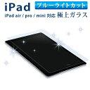 iPad air2 iPad mini4 ipad pro 10.5 ガラスフィルム 日本製旭硝子 9H 2.5D ブルーライト強化ガラスフィルム ipad m...