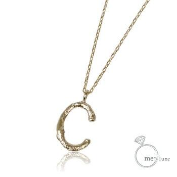 me.イニシャルネックレス C 【ネックレス】【necklace】【首飾り】【ペンダント】【レディース】【Lady's 女性用】