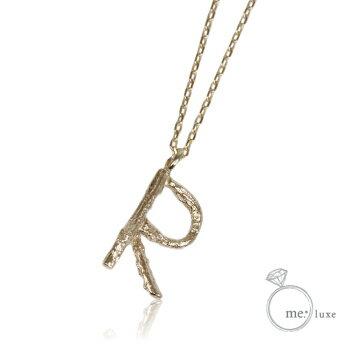 me.イニシャルネックレス R 【ネックレス】【necklace】【首飾り】【ペンダント】【レディース】【Lady's 女性用】