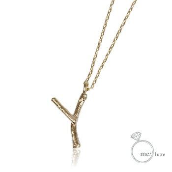 me.イニシャルネックレス Y 【ネックレス】【necklace】【首飾り】【ペンダント】【レディース】【Lady's 女性用】