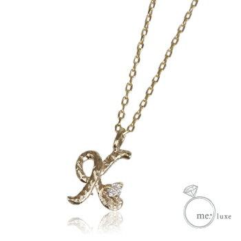 me.ダイヤ/イニシャルネックレス K 【ネックレス】【necklace】【首飾り】【ペンダント】【レディース】【Lady's 女性用】【DIAMOND】