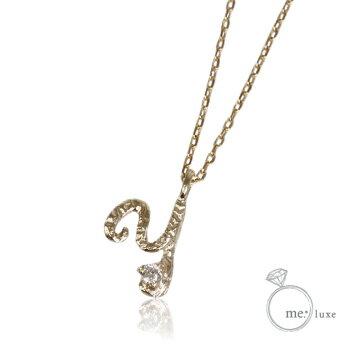 me.ダイヤ/イニシャルネックレス Y 【ネックレス】【necklace】【首飾り】【ペンダント】【レディース】【Lady's 女性用】【DIAMOND】