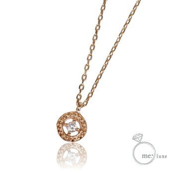 me. ダイヤ/サークルネックレス 【ネックレス】【necklace】【首飾り】【ペンダント】【レディース】【Lady's 女性用】【DIAMOND】