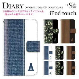 iPod 触摸 5 6 案例手册初始牛仔迷彩木 iPod 触摸 6 ipodtouch6 6 代皮革可爱 iPod 触摸 5 日记案例笔记本外壳的设计案例书封面漂亮时尚第五代