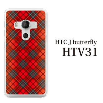 HTC J butterfly HTV31情况htv31覆盖物htv31情况htcjbutterfly au H球座海蝴蝶清除硬件情况智能手机情况智能手机覆盖物手机覆盖物彩色方格图案