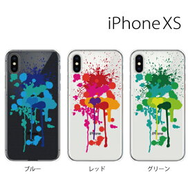9dfe29fe35 Plus-S iPhone xs ケース iPhone xs max ケース iPhone アイフォン ケース 飛び散るペンキ for