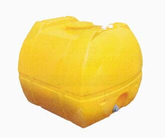 供morimasamu树脂业务使用的罗利容器SL-2000容量2000L黄色(在50A的fittingu)<大型、重量商品>