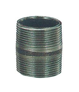 【貯水タンク-ローリータンク部品】モリマーサム樹脂 ローリータンク専用部品 金属ニップル 40A <大型・重量商品>