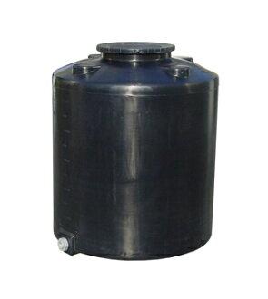 morimasamu树脂圆筒型大型容器、密闭型黑色TM-3000<大型、重量商品>