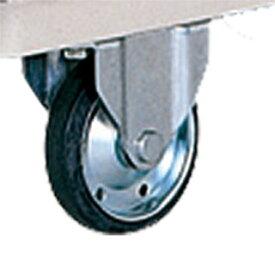 マキテック 6輪台車 バランスカートオプションパーツ 130mmゴムキャスター中央 <大型・重量商品>