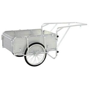 【運搬作業用品-リヤカー】ピカ 折りたたみ式リヤカー PHC-130<大型・重量商品><個人宅配送不可>