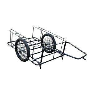 【運搬作業用品-リヤカー】大成車輌 5号リヤカー 空気入り車輪 <大型・重量商品>
