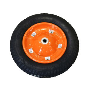 【運搬作業用品--台車部品・キャスター・車輪】2才2輪車・3才2輪車用車輪 空気入り車輪 <大型・重量商品>