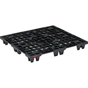 【運搬作業用品-パレット】サンコープラスチックパレット4方差し単面使用型SNパレットN4-1011 <大型・重量商品>