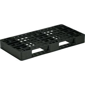 【運搬作業用品-パレット】サンコープラスチックパレット2方差し片面使用型D2-055110 <大型・重量商品>