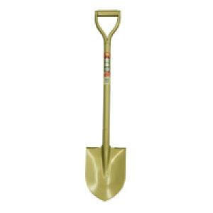 【土木作業用品-ショベル・スコップ】金象印 パイプ柄ホームショベル丸形