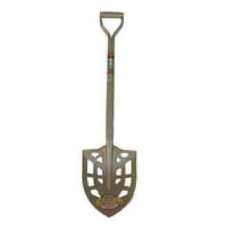 Gold elephant seal pipe handle hole shovel spade