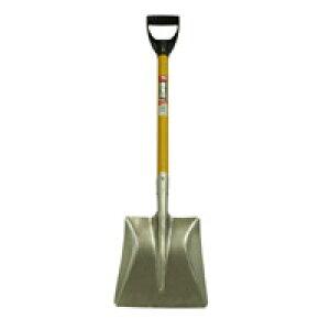 【土木作業用品、除雪作業用品-ショベル・スコップ】銀象印 D柄アルミショベル角形
