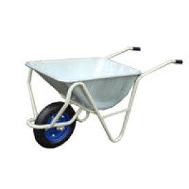 【運搬作業用品-一輪車】日本製 金象印 一輪車 3才深型 パンクレス車輪付(猫ネコねこ車) <大型・重量商品>