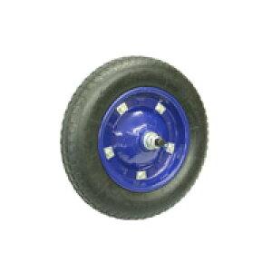【運搬作業用品-台車部品・キャスター・車輪】一輪車用 パンクレス車輪