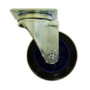 【運搬作業用品-台車部品・キャスター・車輪】スリムカート用 キャスター 100mm自在車輪