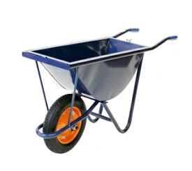 【運搬作業用品-一輪車】幅狭一輪車 WB-3504 <大型・重量商品>