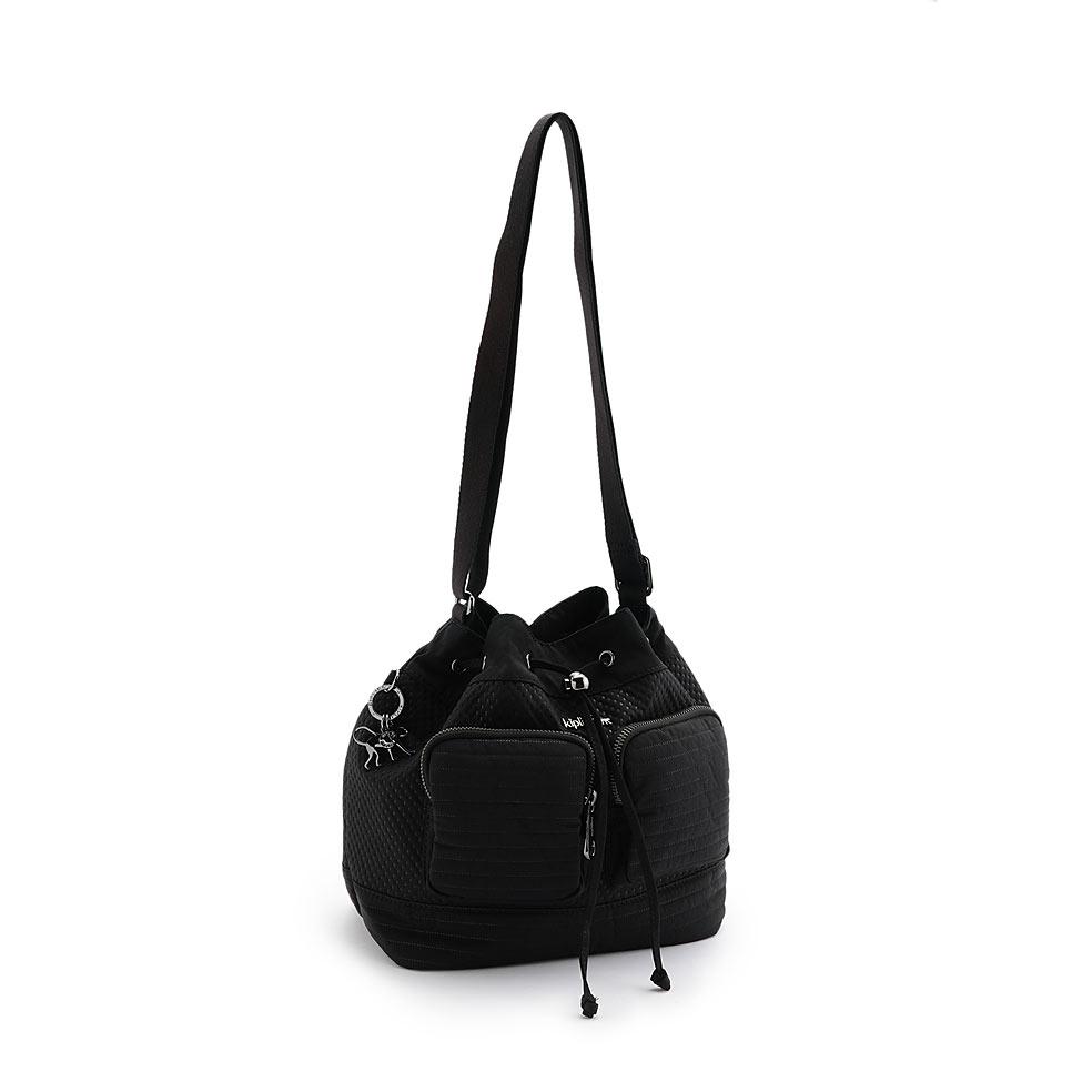 公式キプリングMOULINE(Craft Black)ショルダーバッグ