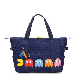 キプリング 公式 ボストンバッグ ART M(Pac Man Good) KI343355J 期間限定価格11/16まで