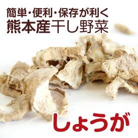 【熊本産】干し野菜(乾燥野菜)しょうが 20g