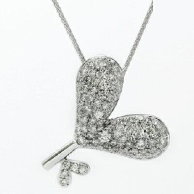 "Key of Heart KH-6 K18WG神田うのダイヤモンドジュエリー""DuNoA""デュノア"