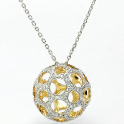 "Champagne Ball CB-3 K18WG/K18CG(Champagne Gold)神田うのダイヤモンドジュエリー""DuNoA""デュノア"