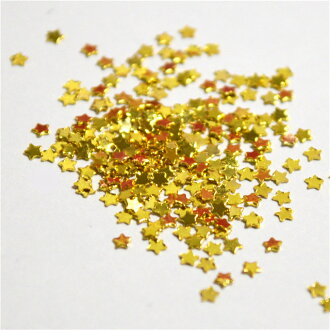 MINI star type gold silver