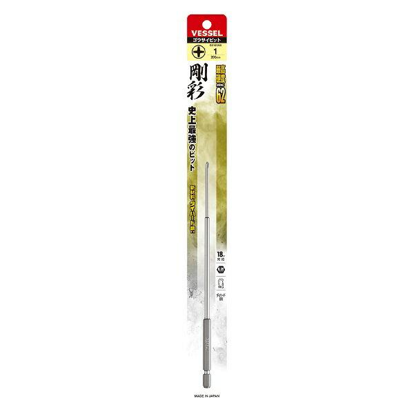 ベッセル 片頭 剛彩ビット No.GS161200(+1×200 1本)