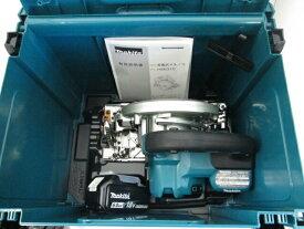 マキタ 18V 165mm充電式マルノコ HS631D[鮫肌チップソー仕様] 本体+[6.0Ah]バッテリBL1860B×1個+ケース