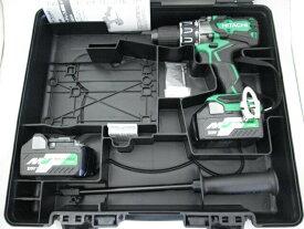 HiKOKI/日立工機 マルチボルト(36V) コードレス振動ドライバドリル DV36DA 本体+電池BSL36A18×2個+ケース