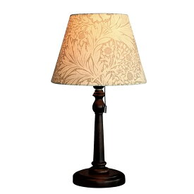 ウィリアムモリス 【テーブルランプ】『マリーゴールド・ベージュ』Marigold-B【送料無料】照明器具 アンティーク家具 おしゃれランプ 輸入 照明