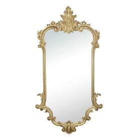 【お得クーポン配布中】 イタリア製 クラシックスタイル 壁掛けミラー ゴールド・鏡 木彫風【送料無料】イタリア ミラー 壁掛け おしゃれ ミラー アンティーク 姿見 ミラー 全身 壁掛け 鏡 壁掛け アンティーク 鏡 壁掛け おしゃれ 北欧 ロココ調