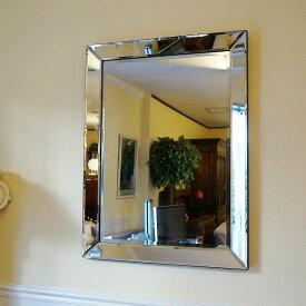 【お得クーポン配布中】 シンプルモダンスタイル 壁掛けミラー 鏡 面取り(Mサイズ)おしゃれ鏡 アンティーク家具 鏡 壁掛け おしゃれ 鏡 全身鏡 姿見 デザイナーズ 鏡 ベネチアンミラー 鏡 姿見 全身 壁掛け アンティーク ミラー 鏡 壁掛け おしゃれ アンティーク 北欧