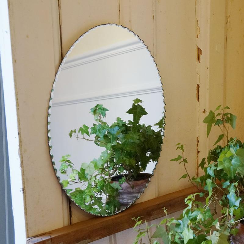 壁掛け 鏡 ミラー 縦掛け オーバル 鏡 シンプルモダンミラー 壁掛け ワイヤー付き 輸入雑貨 おしゃれ 鏡 楕円 洗面 トイレ 玄関 ワンタッチ取付 ミラー 鏡 壁掛け おしゃれ アンティーク 北欧