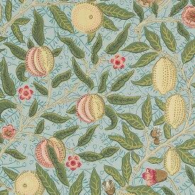 【お得クーポン配布中】ウィリアムモリス 壁紙【フルーツ Fruit】【送料無料】おしゃれ 壁紙 ウォールペーパー クロス 輸入壁紙 イギリス製 アンティーク 壁紙 植物 ボタニカル インテリア 本物 Morris【f-210396】