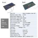 3V 250mA 110mm * 55mm (単結晶)工作用 ソーラーパネル 太陽電池