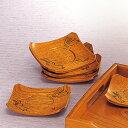 茶托 兎彫り 単品 木製 茶たく 天然木